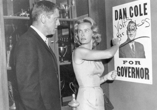 Zwei Stimmen weniger für Mr. Cole: Burt Lancaster  und Dina Merrill