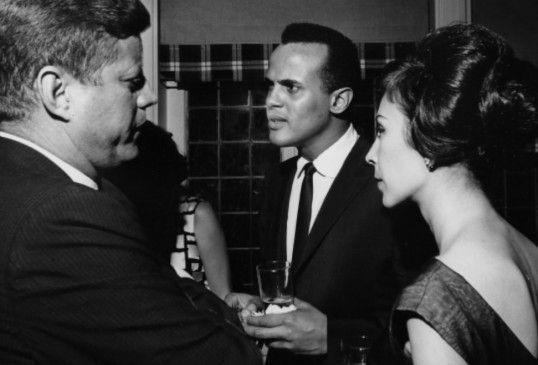 Zeitbild: JFK trifft Belafonte