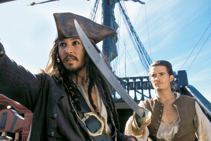 Ergreift die Feinde! Johnny Depp (l.) und Orlando Bloom in Aktion.