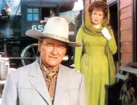 Also Frau, ich geh' schon mal vor! John Wayne und Maureen O'Hara