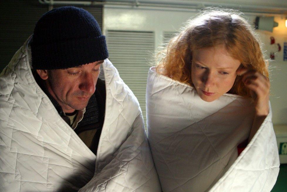 Erst mal warm werden: Heio von Stetten und Maarja Jakobson