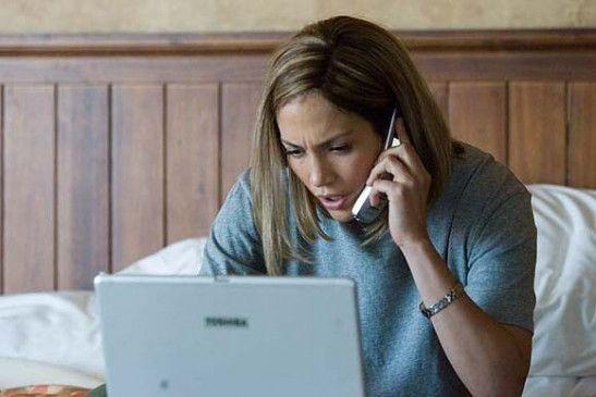 Ein Spion am Telefon? Jennifer Lopez als Journalistin