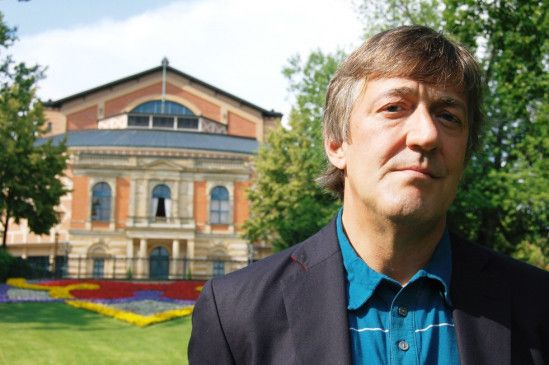 Stephen Fry in Bayreuth