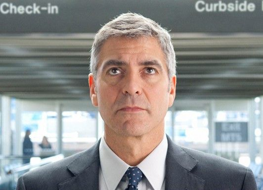 George Clooney vor dem nächsten Flug
