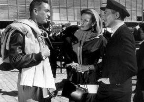 Verzeihung, wer ist denn nun der Spion?  Leonard  Sachs, Maureen O'Hara und MacDonald Carey (v.l.)