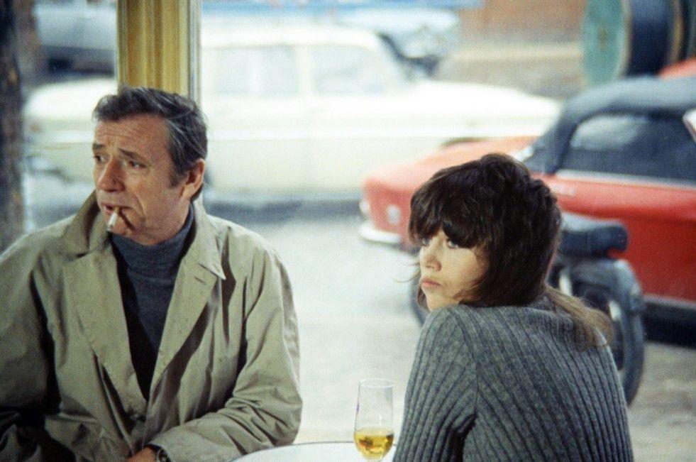 Irgendwie langweilig hier, oder? Yves Montand und Jane Fonda