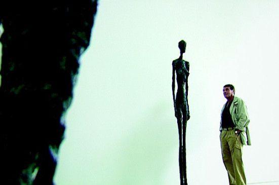 Ist die lang, Mann: Eine der für Alberto Giacometti typischen  Skulpturen