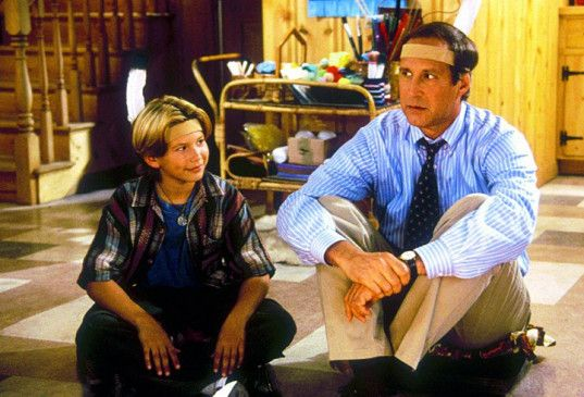 Jonathan Taylor Thomas will Chevy Chase nicht als Vater