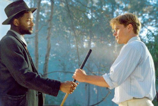 Und jetzt spiel! Will Smith (l.) und Matt Damon