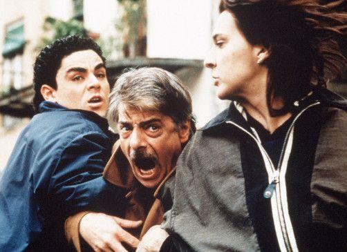 Ich will zu meiner Frau! Giancarlo Giannini (M.) mit Ricky Memphis und Rosalinda Celentano