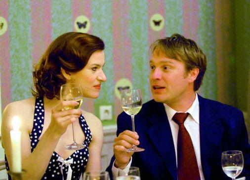 Dann mal Prost! Pierre Besson und Inga Busch