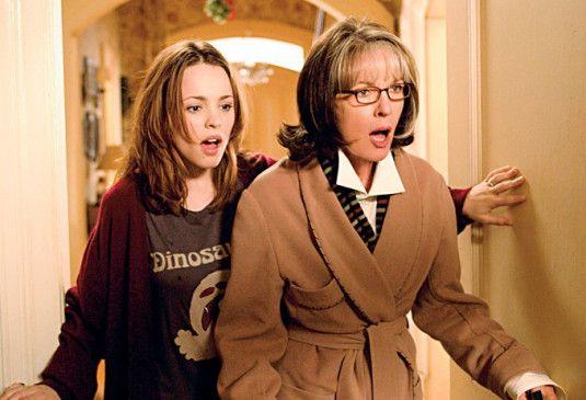 Meredith ist wirklich unglaublich! Rachel McAdams und Diane Keaton staunen