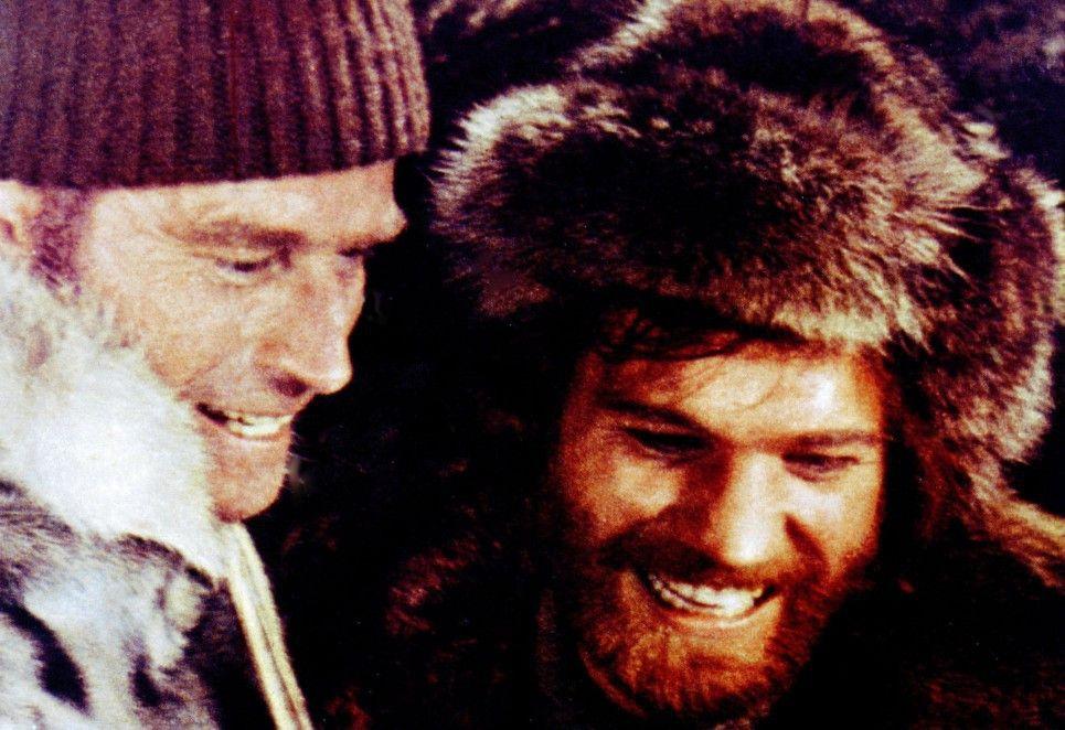 Wenn das kein Gold ist! Charlton Heston (l.) und Raimund Harmstorf