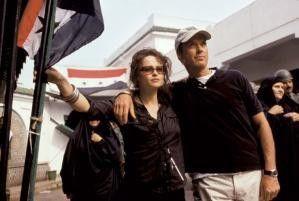 Ist doch schön hier, oder? Michael Keaton und Helena Bonham Carter