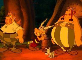 Die spinnen, die Wikinger! Asterix und Obelix wundern sich