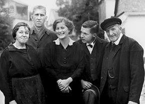 Die Simons - ein Familienfoto aus dem Hunsrück