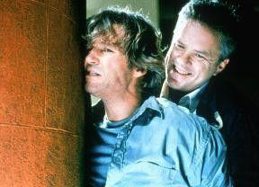 Ja, ich bin ein Bösewicht - Tim Robbins (r.) und  Jeff Bridges