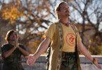 Der Guru und sein Zögling: Jeff Bridges und George Clooney (Hintergrund)