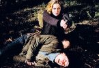 Veronica Molin (Lia Boysen) bedroht Stefan Lindman (Jonas Karlsson)