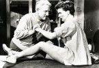 So und jetzt schön Heia machen: Spencer Tracy und Katharine Hepburn