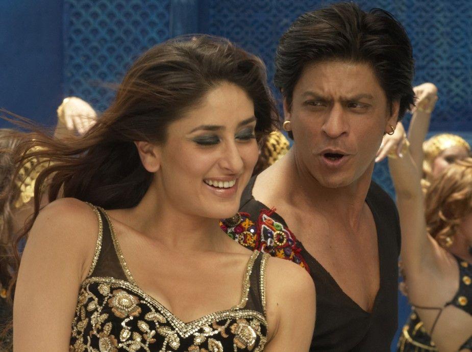 Die Dreharbeiten machen Spaß! Kareena Kapoor und Shahrukh Khan