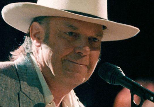 Nicht nur in Nashville ein umjubelter Star: Rock-Ikone Neil Young