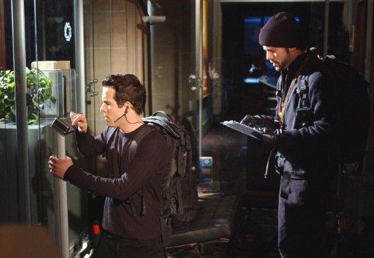 In ihrer Freizeit simulieren die Computerfreaks Kevin (Ryan Reynolds, l.) und Rob (Joris Jarsky) Einbrüche