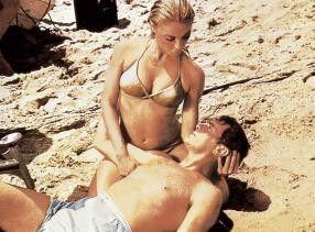 Geh' mir aus der Sonne, Frau! Tony Curtis und Sharon Tate
