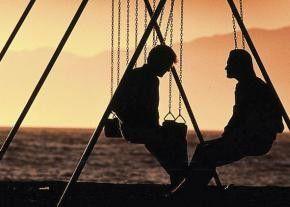 Das ist doch mal ein toller Sonnenuntergang!  Mel Gibson und Kurt Russell (v.l.)