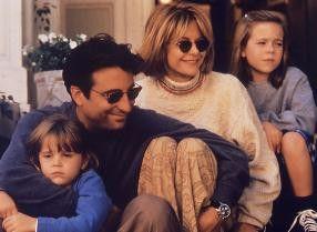 Fast perfekt: Andy Garcia, Meg Ryan und Familie