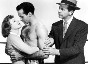 Kämpfe wie ein Tiger, Schatz! June Allyson,  Ricardo Montalban und Dick Powell (v.l.)