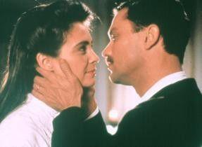 Nur ein Küsschen, bitte! Nathalie Roussel und  Philippe Caubere