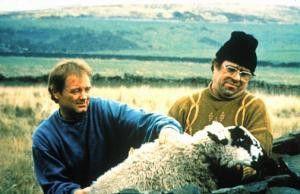"""Das meintest du also mit """"Ich ziehe Dir die  Hammelbeine lang"""": Bruce Jones (l.) und Ricky  Tomlinson"""