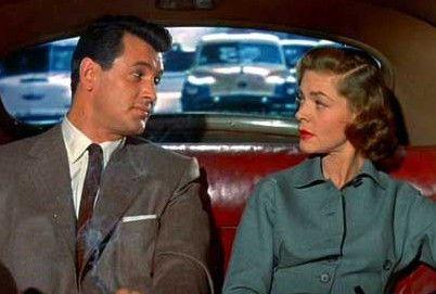 Jetzt schau doch nicht so! Rock Hudson und Lauren Bacall