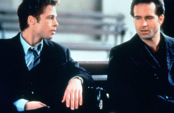 Wie wird die Gerichtsverhandlung enden? Brad Pitt (l.) mit Jason Patric