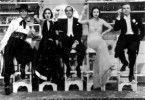 Hier gehts rund: Ricardo Cortez, Dolores Del Rio, Al Jolson, Liane Renaud und Dick Powell (v.l.)