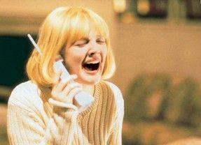 Das Grauen ist am Telefon - schrei! Drew Barrymore  als Opfer