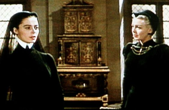Erbitterte Gegnerinnen: Diane (Lana Turner, r.)  und Katharina von Medici (Marisa Pavan)