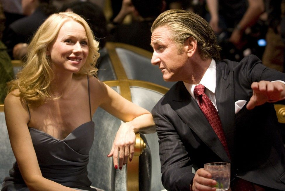 Noch ist alles in bester Ordnung. Naomi Watts und Sean Penn