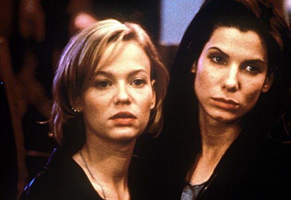 Hoffen auf die große Karriere: Samantha Mathis (l.) und Sandra Bullock