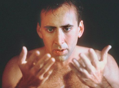 Natürlich bin ich ein Engel, schaut mal die Hände! Nicolas Cage