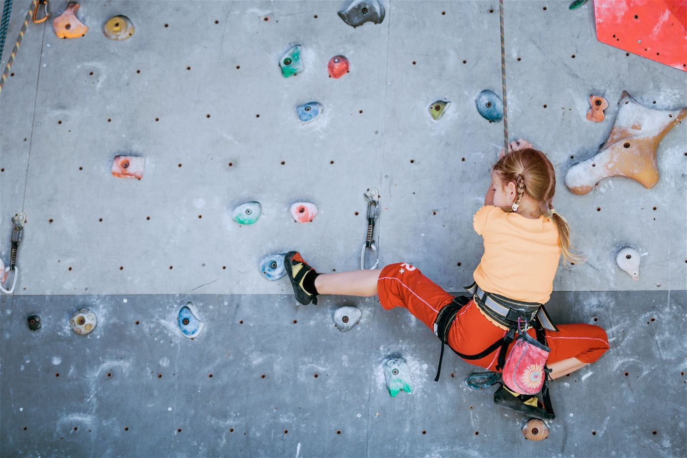 Außergewöhnlich gut: Jedes Kind sollte seine eigene Sportart finden, an der es Spaß hat. Manchmal geht es dabei auch hoch hinaus.