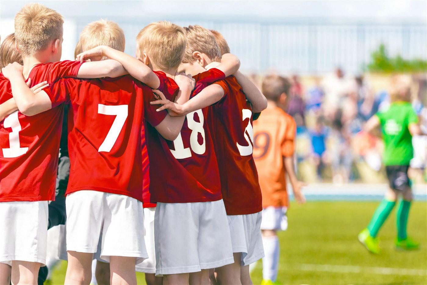 Mannschaftssport: Im Team mit Freunden macht Bewegung gleich doppelt Spaß.
