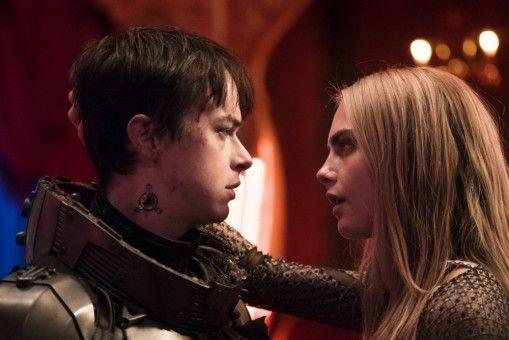 Sie lieben und sie hassen sich: dem Agenten und Frauenhelden Valerian (Dane DeHaan) und Laureline (Cara Delevingne).