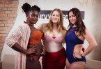 """Zum Beginn der zweiten Staffel von """"Curvy Supermodel"""" hatten die Kandidatinnen ihr Laufsteg-Debut."""