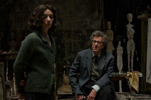 Um die Ehe zwischen Alberto Giacometti (Geoffrey Rush) und seiner Frau Annette (Sylvie Testud) steht es nicht zum Besten.