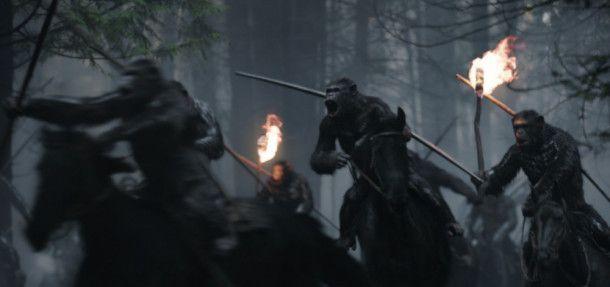 Die Affen kämpfen einen Krieg, den keiner von ihnen wollte.