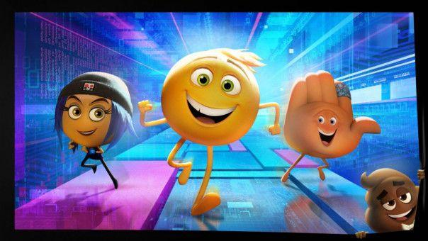 Für die Emojis Jailbreak, Gene und Hi-5 beginnt eine abenteuerliche Reise.