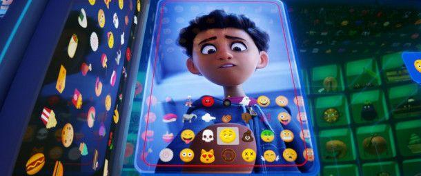 """Handynutzer Alex hat Gene, ein """"Meh-Emoji"""" ausgewählt. Eine folgenreiche Entscheidung."""