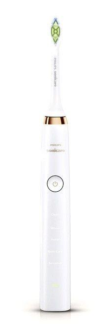 Hersteller: Philips<br> Name: Sonicare DiamondClean<br> Typ: Schallzahnbürste<br> Akkulaufzeit: bis zu 3 Wochen<br> Preis (UVP): 229,90 Euro